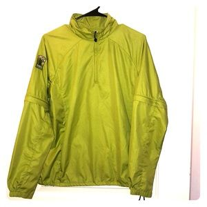 1/4 zip wind breaker